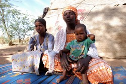 [Niger] Both of 25-year-old azara's children were conceived when her master raped her. even though they are his children, he classes them as his slaves. In niger, 43,000 people were born into slavery, rights groups calculate, just as their parents and the