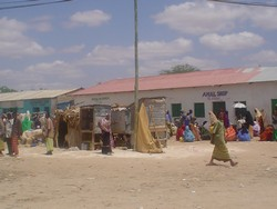 [Kenya] El Wak town on the Kenya-Somalia border.
