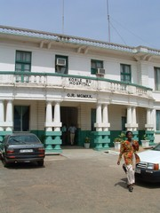 [Ghana] Korle Bu Hospital in Accra. The main hospital in Ghana.