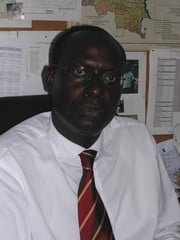 [DRC] Mohamed Fall, the administrator of UNICEF's education programme in the DRC. [French: Administrateur du programme éducation de l'Unicef RDC]. [Date picture taken: 2005/09/09]