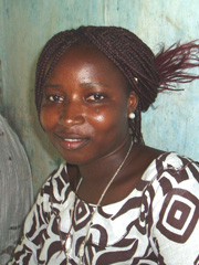 [Senegal] Kewe Thiam is the only girl in her village to have completed high school. [Date picture taken: 09/01/2006]