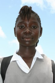 [Liberia] School girl, Ganta. [Date picture taken: 10/27/2006]