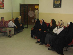 [Iraq] Pregnant women in an antenatal clinic in Baghdad. [Date picture taken: 12/19/2006]