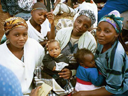 [Swaziland] In 2006 Swazi women were granted equal status as men, instead of  being considered legal minors. [Date picture taken: 05/20/2003]
