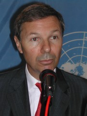 [DRC] UN Under-Secretary-General Jean-Marie Guéhenno, head of the UN Department of Peacekeeping Operations (DPKO). [Date picture taken: 03/09/2006]