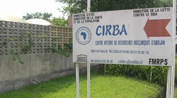 [Cote d'Ivoire] CIRBA, or Integrated Center for Bioclinical Research, is widely acclaimed as a top-rate center for people seeking counseling and anti-retroviral treatment - and the first to have 'European standards'.[Date picture taken: 03/14/2006]