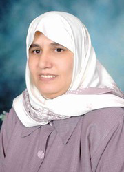[Yemen] Rashida al-Qaili, the second Yemeni woman to declare her intention to enter presidential race. [Date picture taken: 03/11/2006]