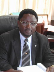 [CAR] Dr Joseph Foumbi, the UN Humanitarian Coordinator in the Central African Republic (CAR) and head of the UN Children's Fund (UNICEF). [Date picture taken: 04/12/2006]