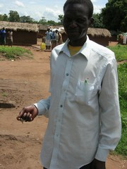 [Uganda] Oboi Charles, an IDP who lives at Swaria camp, Soroti, eastern Uganda.