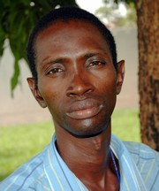 [Guinea-Bissau] Lamine Sande, 1st HIV Positive to reveal his status in public, in Guine-Bissau. [Date picture taken: 04/10/2006]