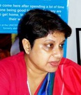[Uganda] The UN Secretary General's Special Representative for Children and Armed Conflict, Radhika Coomaraswamy. [Date picture taken: 06/10/2006]