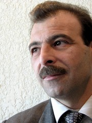 [Syria] Leading human rights lawyer Anwar al-Bunni has been on hunger strike in prison since May 17. [Date picture taken: 06/04/2006]