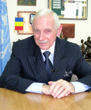 [DRC] William Swing, special representative of the United Nations Secretary-General. [Date picture taken: 05/17/2006]