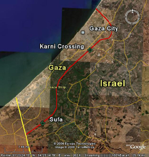 [OPT/Israel] The closure of a key commercial border crossing at Karni is strangling relief supplies into Gaza.