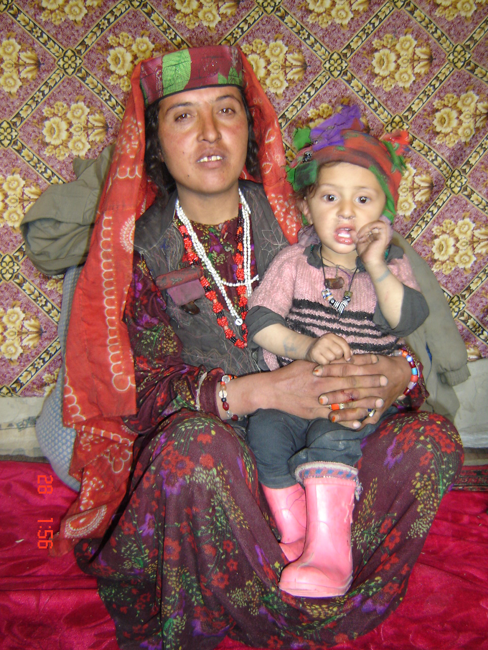 The woman who tells the story of her sister in law on maternal mortality from Wakhan explains to  IRIN,  16 February 2006, North East,  Afghanistan