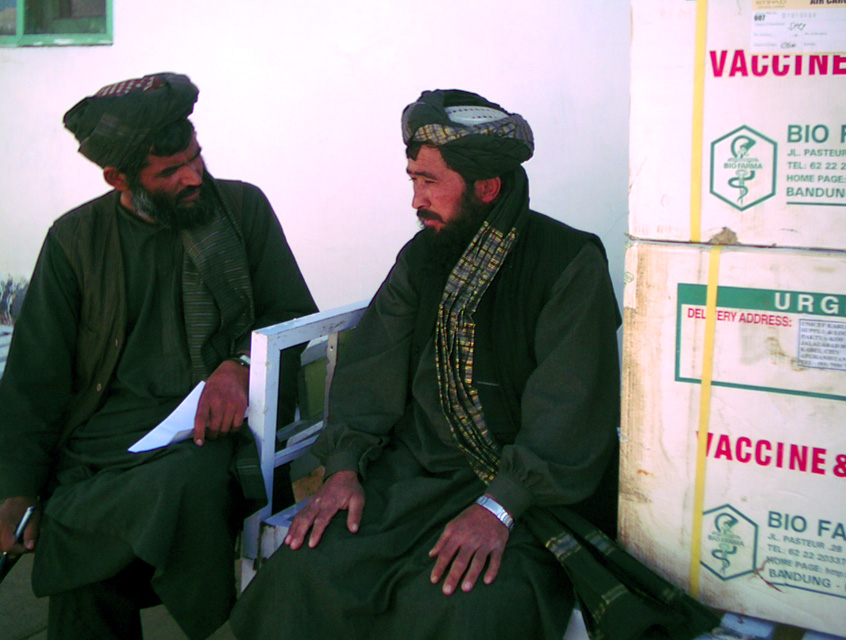 On 16 February 2007, Hamdullah, a government vaccinator was beaten up by the Taliban who threatened to kill him if continued to vaccinate children against polio outside Tarinkot, the provincial capital of Afghanistan's volatile Uruzghan province. Afghanis