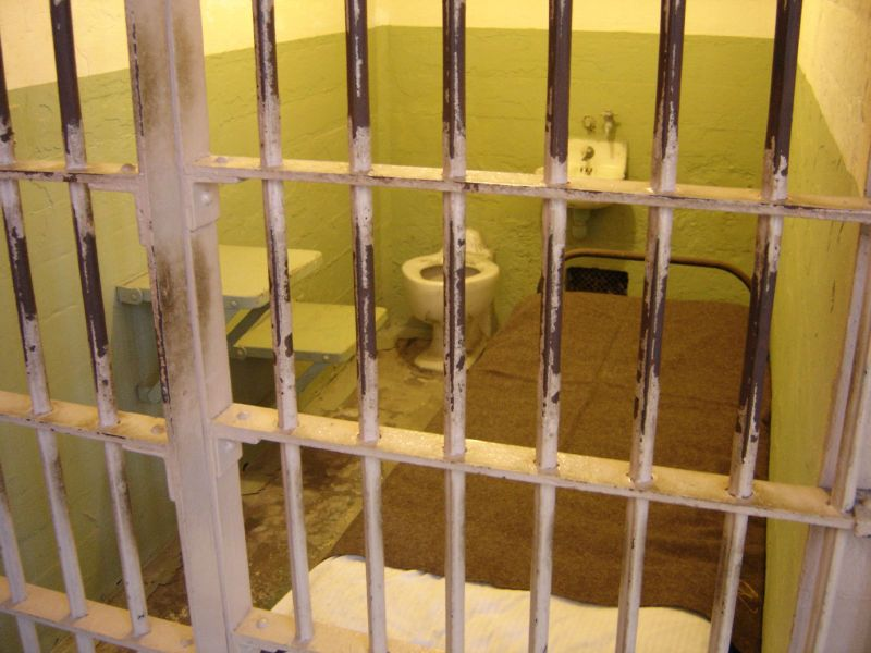 A prison cell