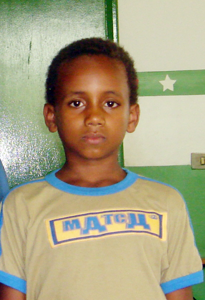 Majdy Imad, 10, lost his parents and two sisters last year in sectarian killings.