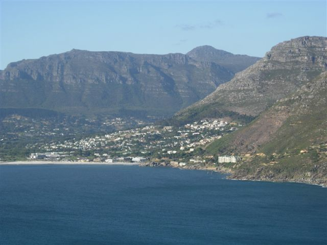 A view of the city of Cape Town, with the Table Mountain in the background, South Africa, December, 2006.