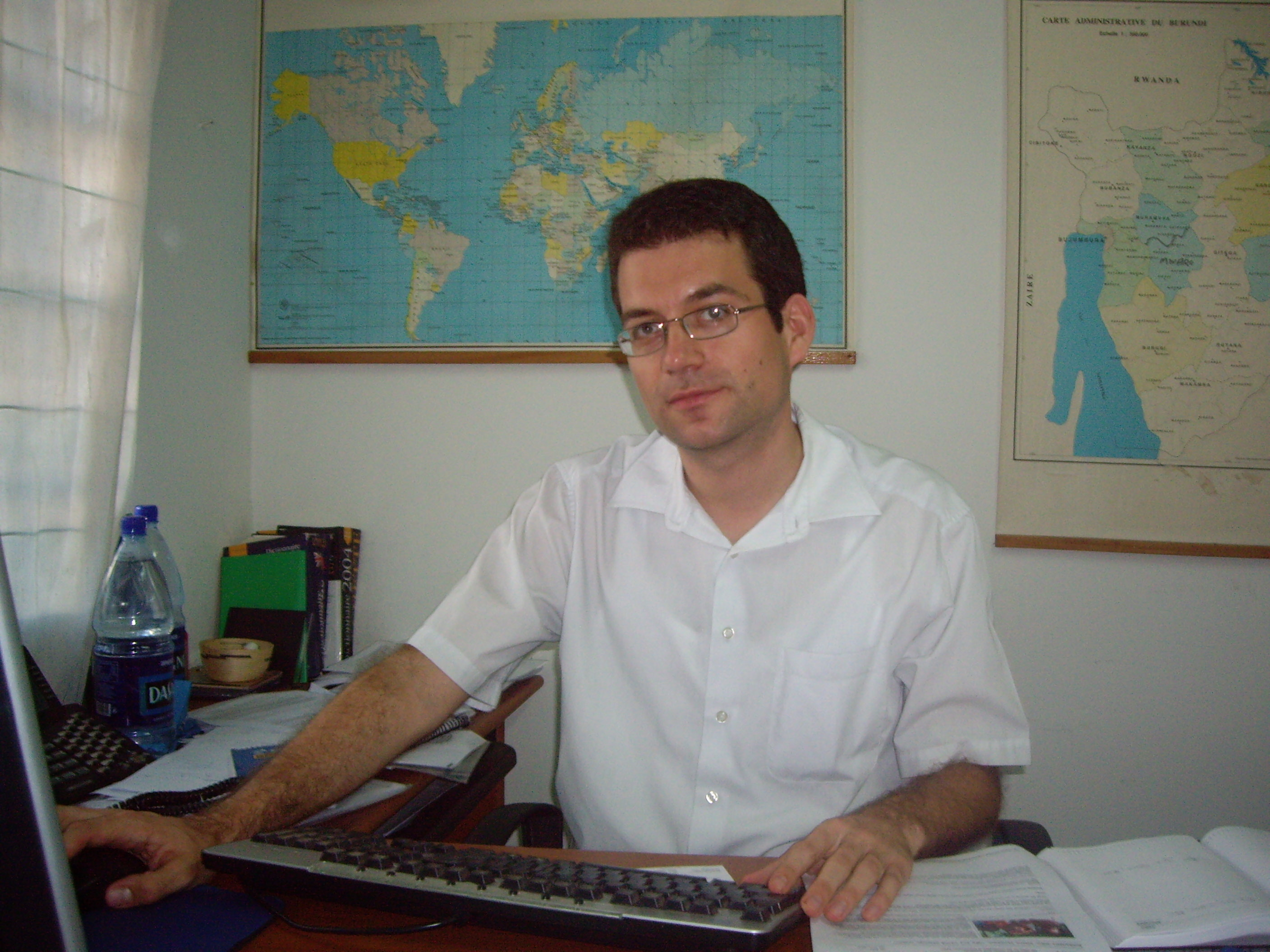 UNHCR associate external relations officer, Andreas Kirchhof, Burundi, May 31, 2007.
