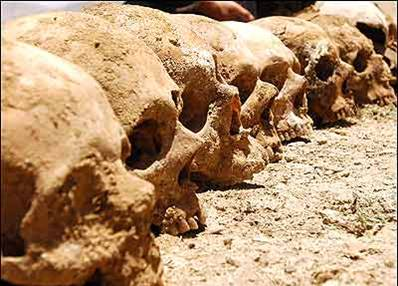 Remains of thousands of people have been found in 81 mass graves across Afghanistan.