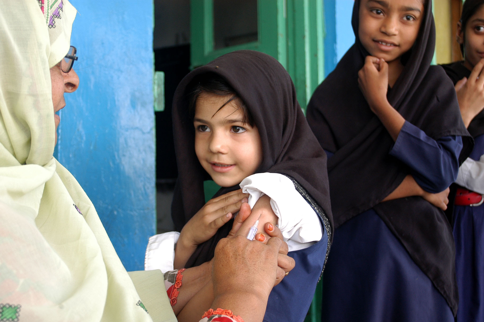 An estimated 21,000 children a year die of measles each year in Pakistan - making vaccination efforts all the more important.