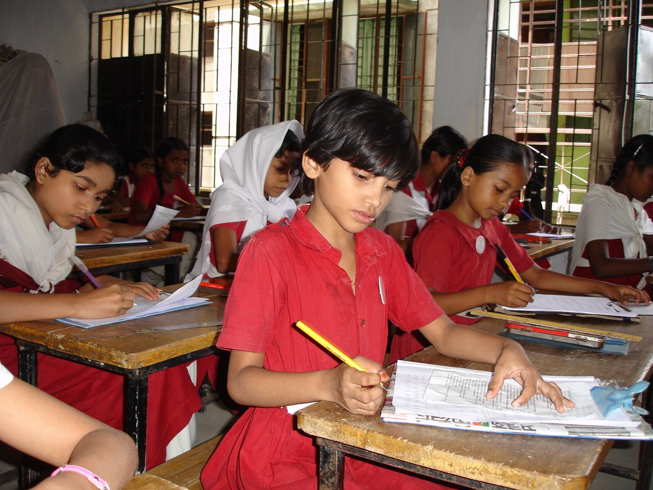 There are some 80,000 primary schools in Bangladesh, an impoverished nation of 150 million inhabitants.