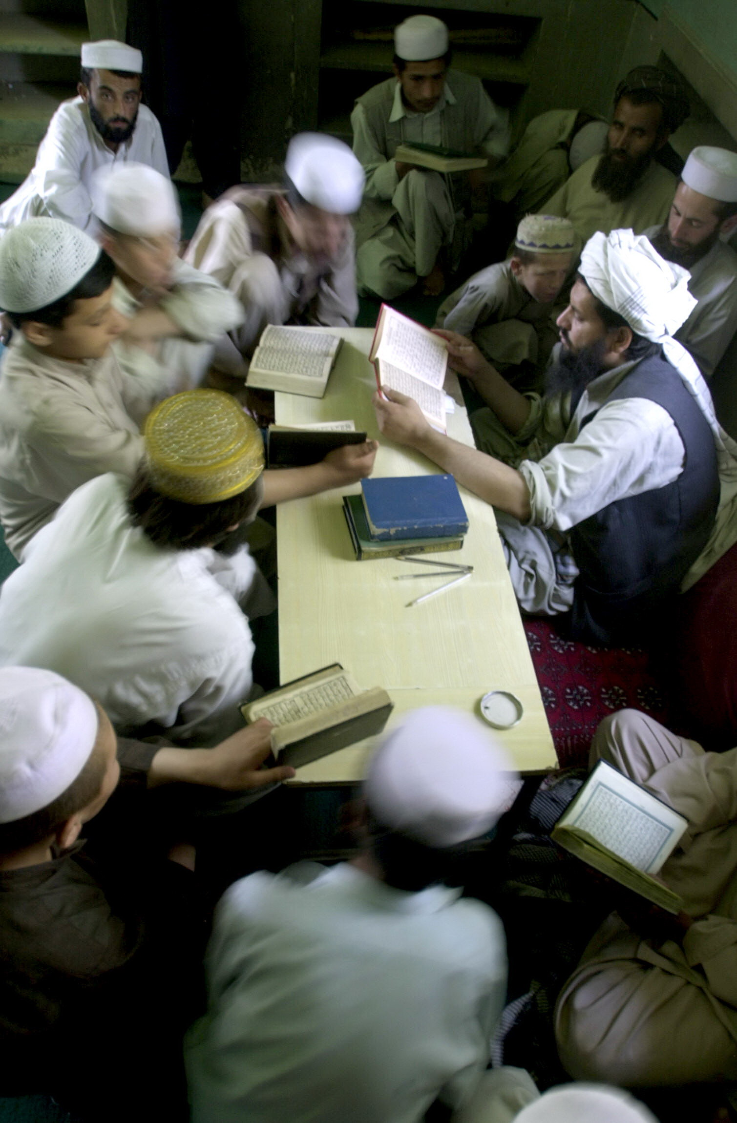Extremist elements in Swat have been urging their parents to send their children to madrassahs.