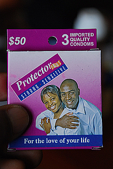 A packet of condoms sold in Zimbabwe is cheaper than a sweet. Zimbabwe announced at the end of October that the HIV/AIDS prevalence rate had declined from 18.1% to 15.6% over the past four years.