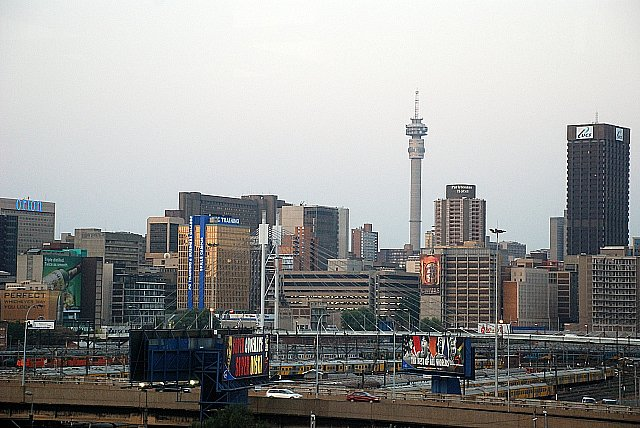 City of Johannesburg in South Africa.