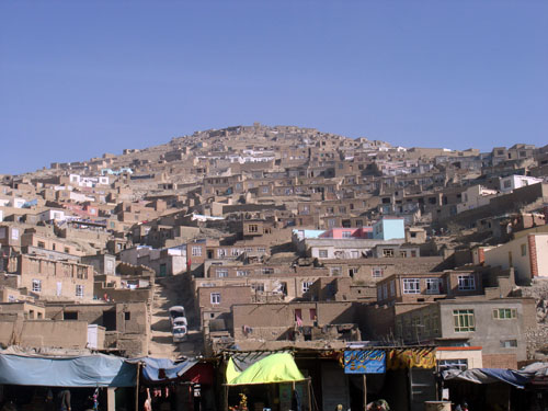 Tens of thousands of irregular, substandard and illegal houses have mushroomed on the hills on the outskirts of Kabul, according to Afghanistan's urban development ministry.