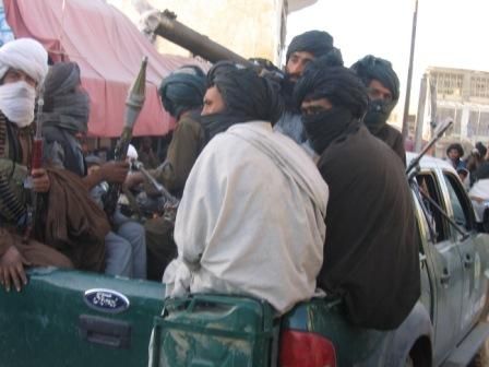 Taliban insurgents occupied Musa Qala District in February 2007.