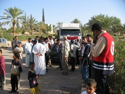 [Iraq] Displaced people are recieving less assistance from aid agencies each day. [Date picture taken: 01/30/2007]
