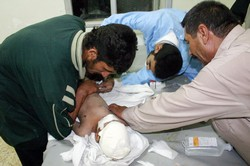 [Iraq] Treating patients in Iraq's hospitals is becoming incresaingly dangerous. [Date picture taken: 02/13/2007]