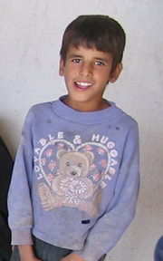 [Iraq] As an orphan living in Baghdad's streets, Fadhel, 11, steals to survive. [Date picture taken: 02/07/2007]