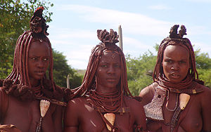 The Himba are a nomadic, pastoral people living in northern Namibia.