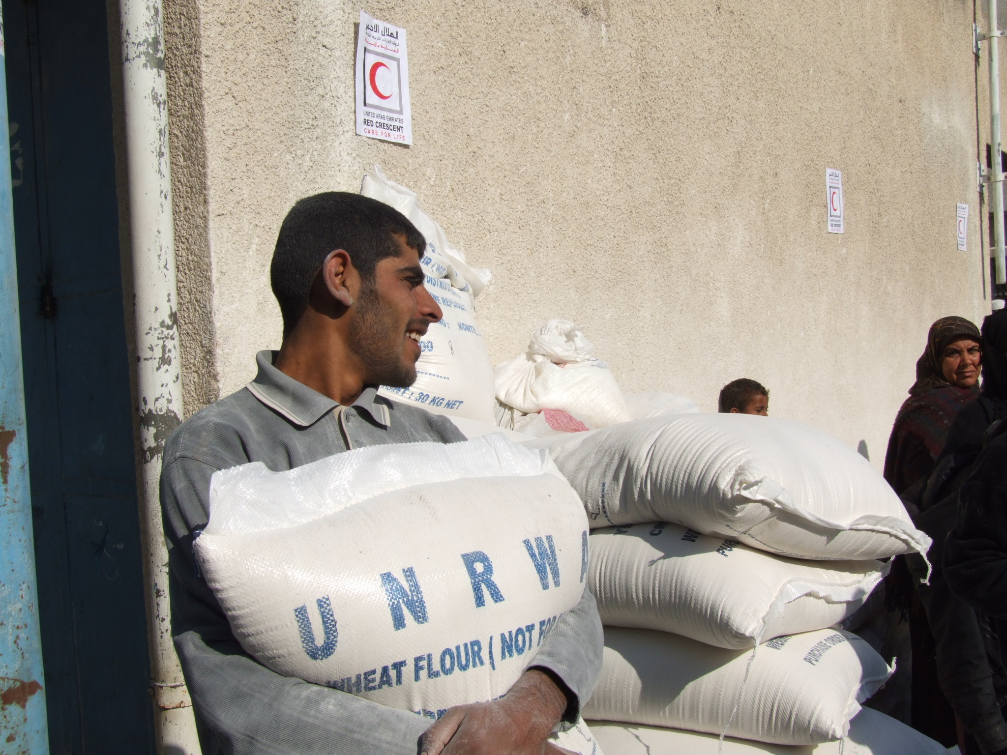 UNRWA - the largest distributor of aid in Gaza - said it needed over US$5 million for food aid as part of its appeal.