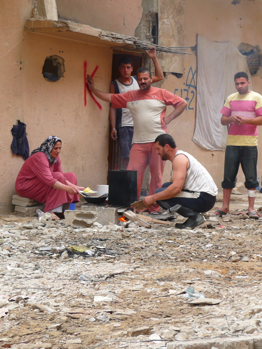"Roughly 1,500 families have returned to live in tough conditions in Nahr El-Bared's desolate ""new camp"""
