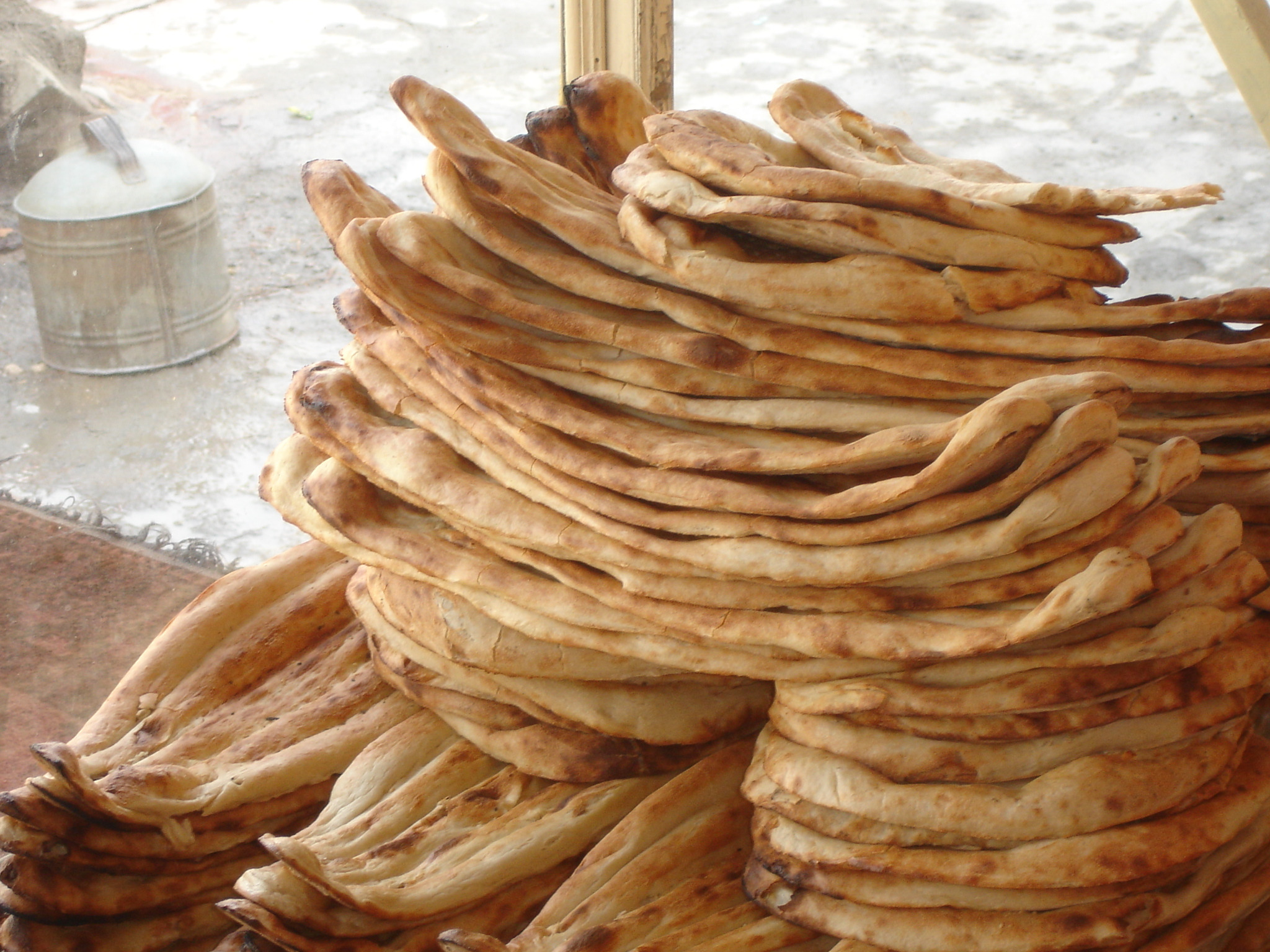 Bread is a staple part of the Afghan diet. Due to increasing wheat costs, bread too has gone up in price.
