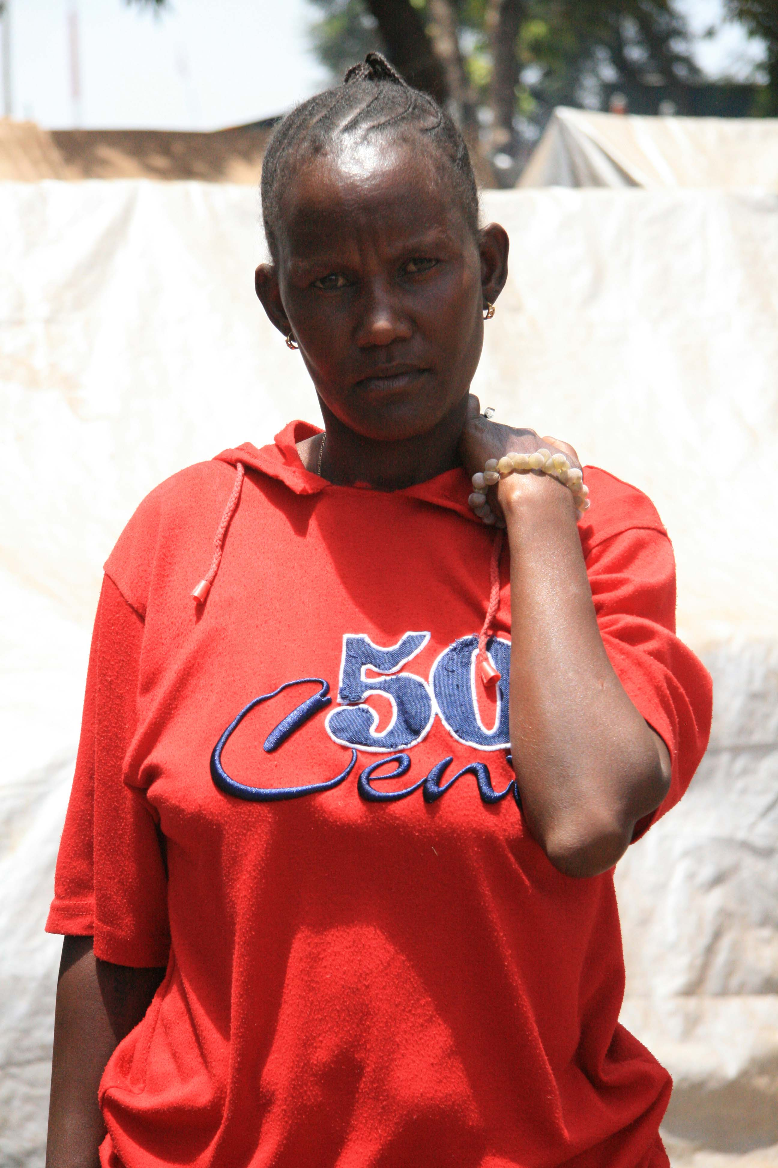 Nancy Wanjiru, 32, has lived in Nairobi's Mathare slum area since birth.