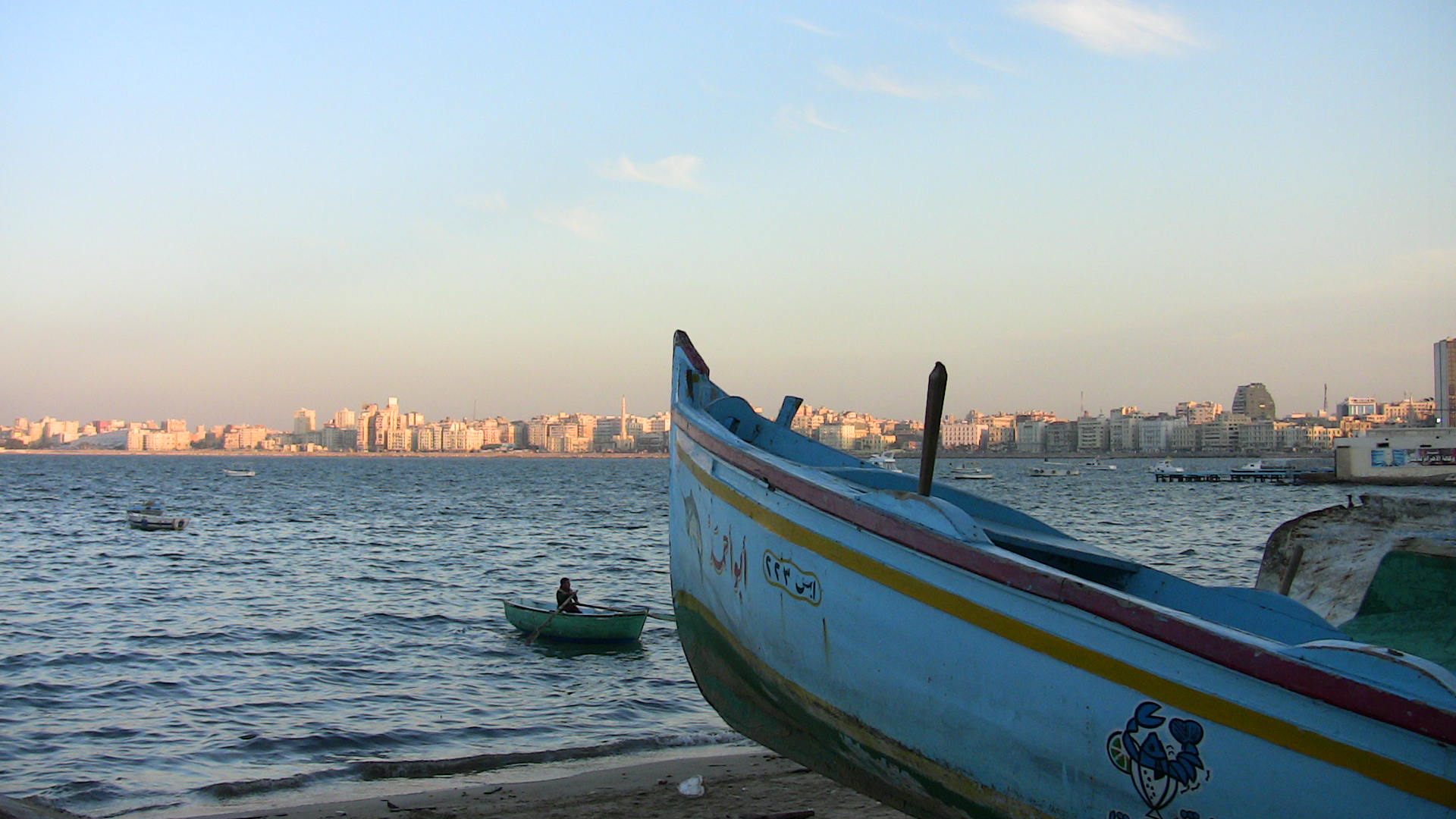 "Alexandria, covering about 32km of the Mediterranean sea coast, is a major tourist destination, known as ""the Pearl of the Mediterranean"""