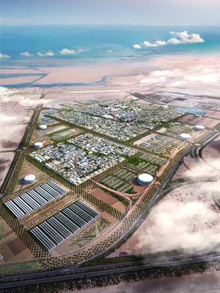 Masdar City will create the world's first zero-carbon, zero-waste, car-free city, officials say.