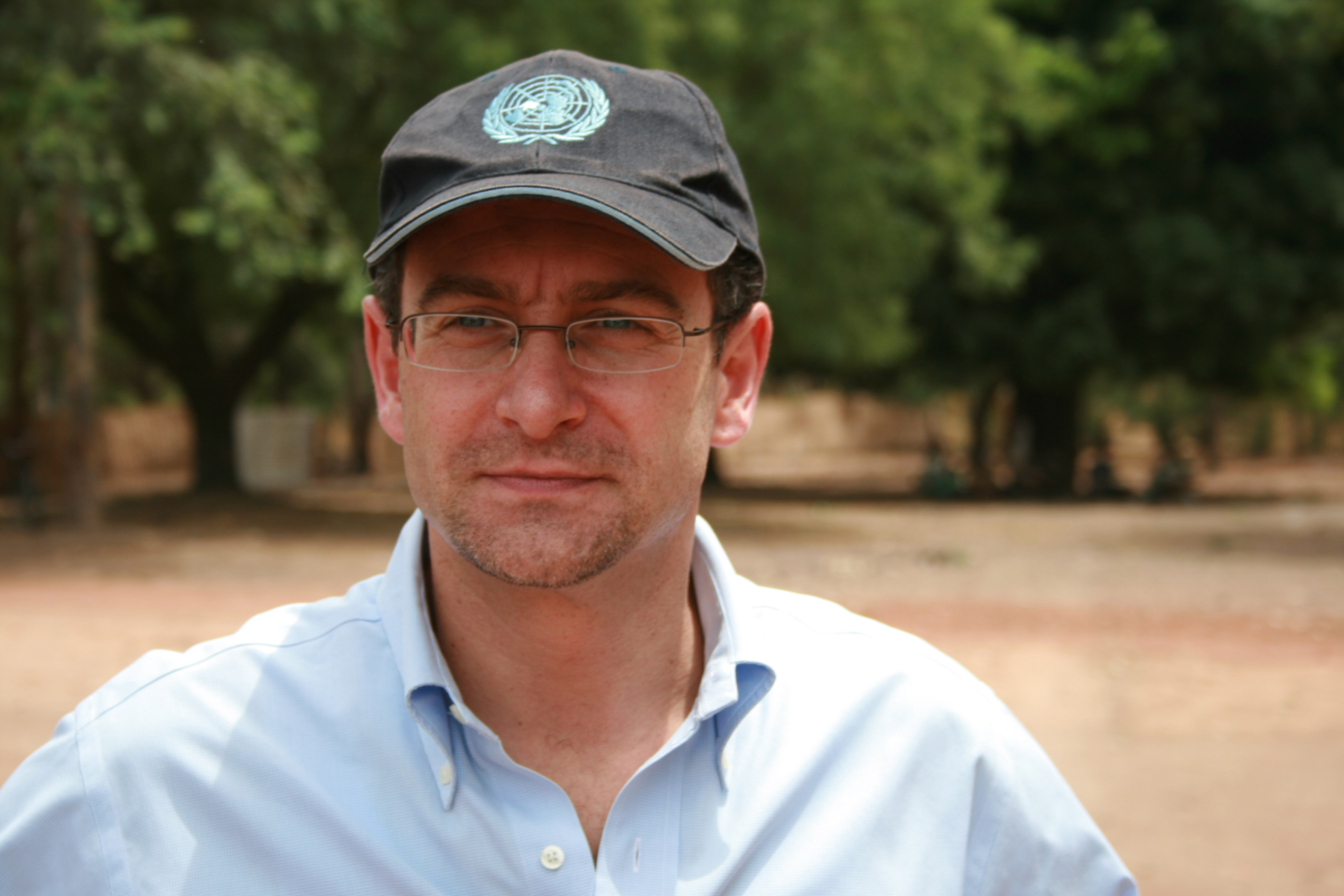 Toby Lanzer, UN humanitarian Coordinator in Central African Republic.