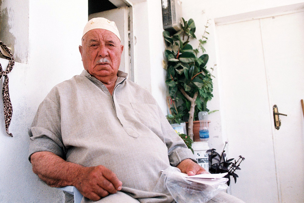 Jamil Khader, 87, became very will when he discovered that nearly all of the 1,400 olive trees his extended family planted in February had suddenly gone missing.