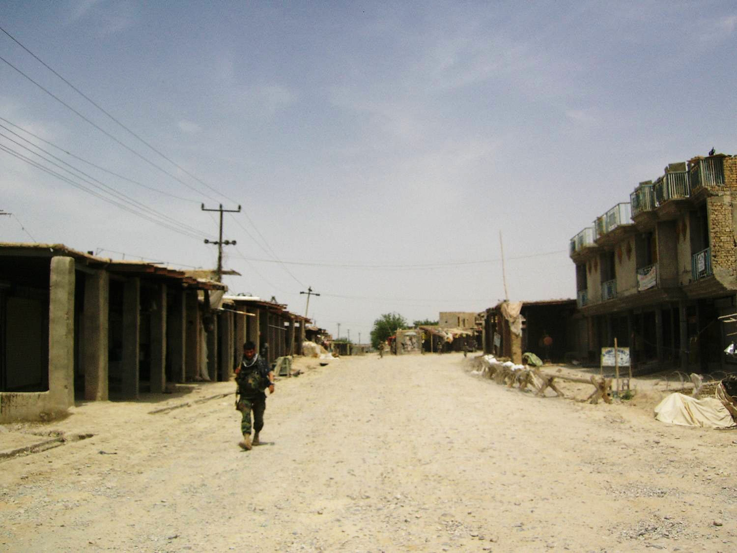 "Garmsir was one of the most populated districts of Helmand Province which now has turned into a ""ghost town"" because of the conflict, local residents said."