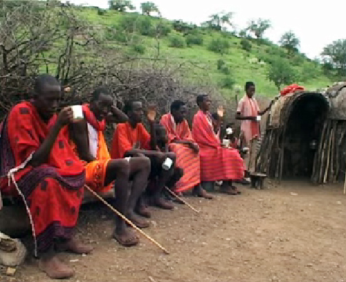Up to 80 percent of the Masai living in Magadi, in southern Kenya, have lost their cattle due to drought, which is becoming more frequent as a result of global warming.