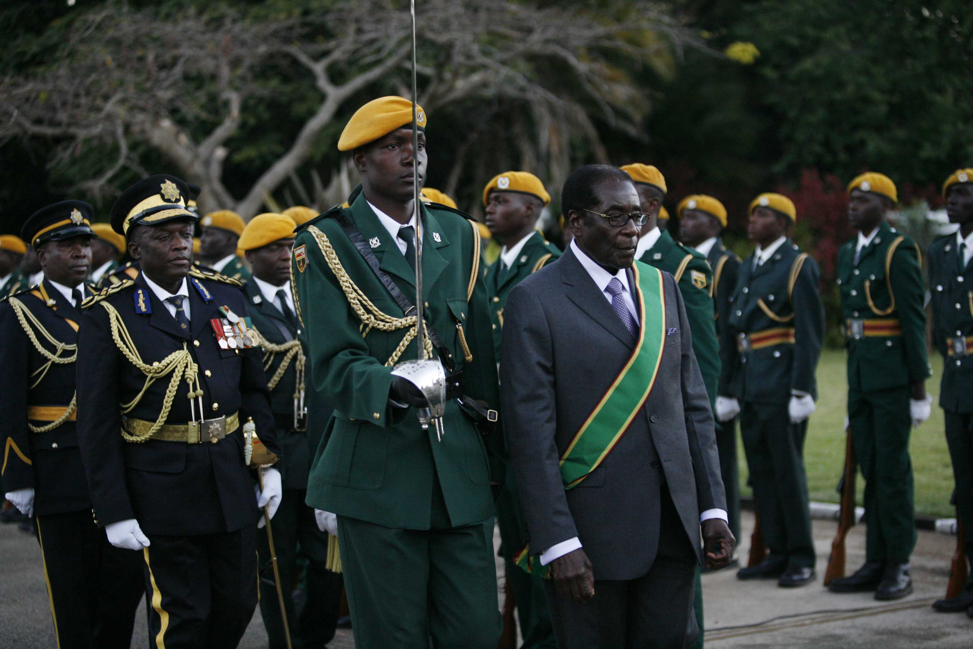Robert Mugabe continues his unbroken rule.