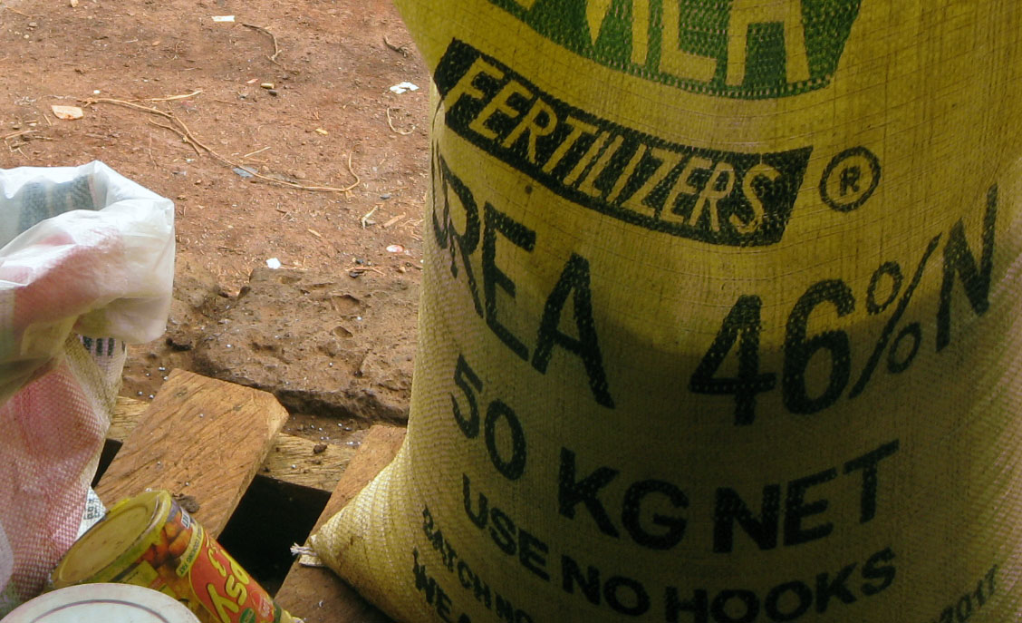 Increasing fertilizer prices have led to declining production in the district of Mt. Elgon.
