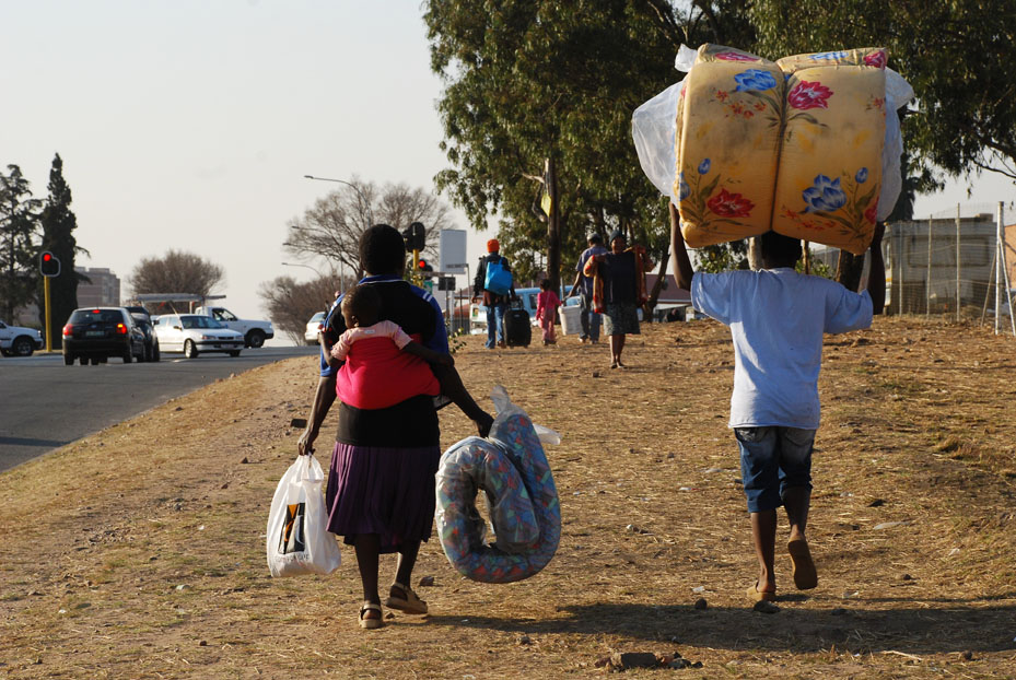 Migrants displaced by the recent xenophobic attacks have begun moving out of their temporary shelters in Gauteng, which were to have been closed by 15 August 2008