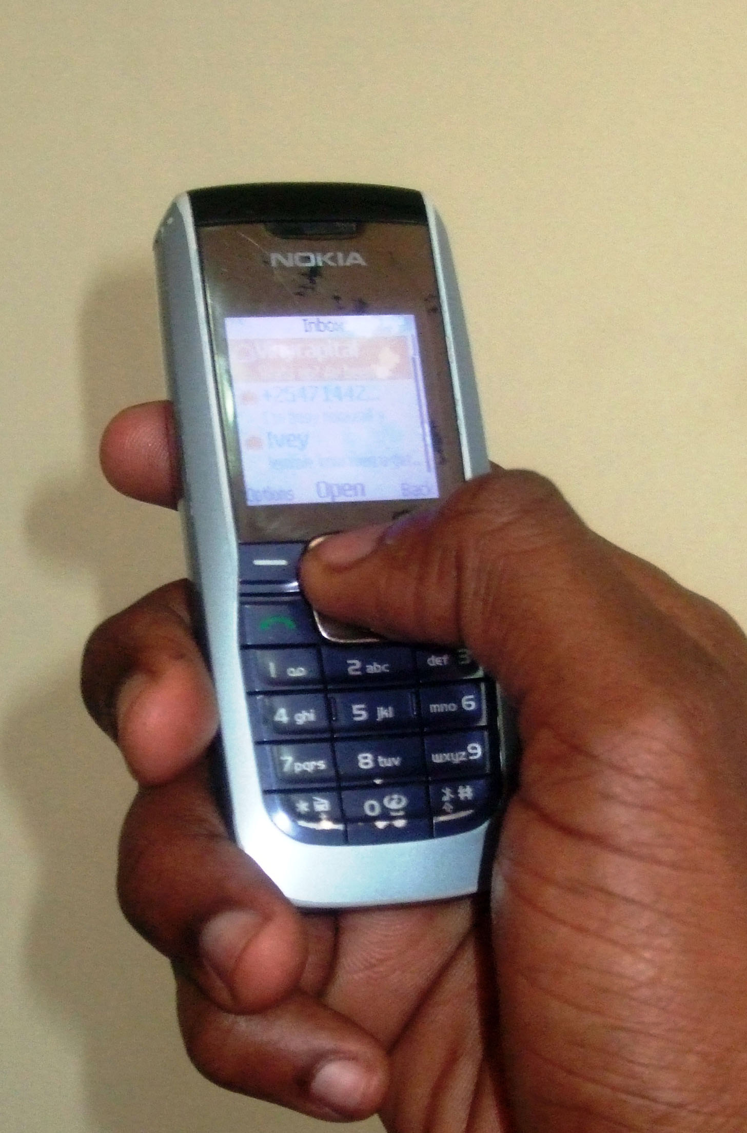Mobile phones are increasingly being used as tools for humanitarians